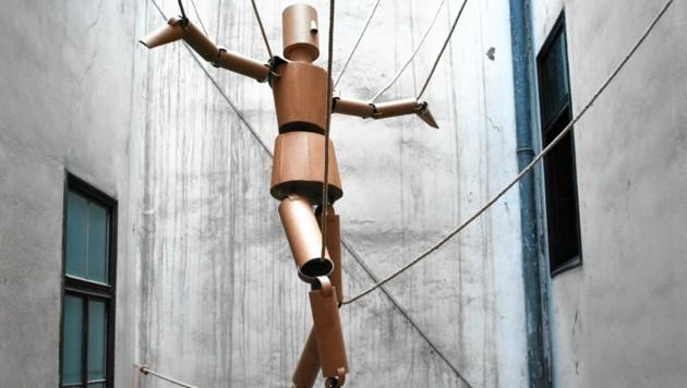 """""""In der Schwebe"""" im Grazer Kunstzentrum rotor (Bild: Kunstzentrum rotor)"""