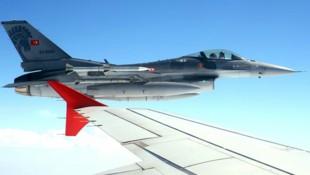 Ein F-16-Kampfjet der türkischen Luftwaffe (Bild: TURKISH PRESIDENTIAL PRESS SERVICE)