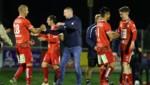 Coach Plassnegger und die Rotjacken durften jubeln. (Bild: GEPA)