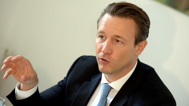 Finanzminister Gernot Blümel (ÖVP) (Bild: APA/HERBERT PFARRHOFER)