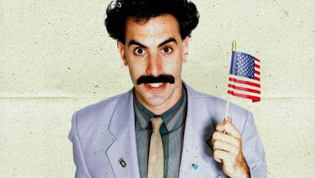 """Sacha Baron Cohen in seiner Kultrolle als dummdreister kasachischer TV-Reporter in """"Borat"""" (Bild: www.pps.at)"""