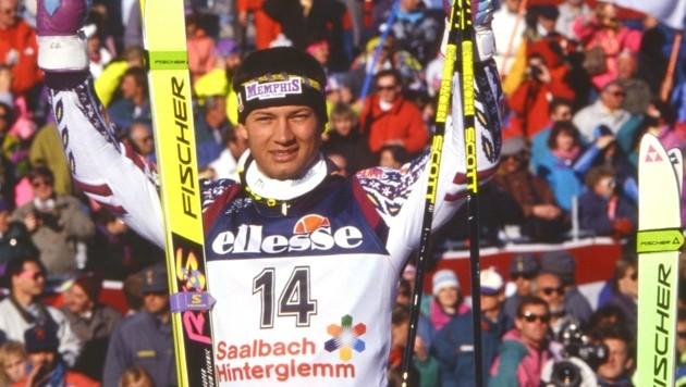 Unvergessen: Bei der WM 1991 gab es zweimal WM-Gold für Stephan Eberharter. (Bild: Honorar)