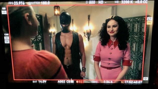 """""""Riverdale""""-Schöpfer Roberto Aguirre-Sacasa postete dieses Foto von den Dreharbeiten zur fünften Staffel. (Bild: www.twitter.com/WriterRAS)"""