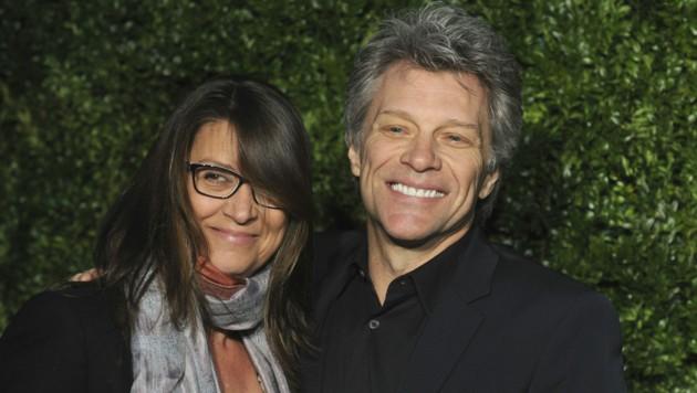 Jon Bon Jovi und seine Frau Dorothea Hurley (Bild: Dennis Van Tine / dpa Picture Alliance / picturedesk.com)