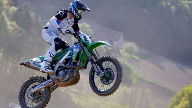 Gelingt Motocrosser Michael Kratzer in den letzten beiden Rennen doch noch der große Sprung zum Staatsmeistertitel? (Bild: GEPA pictures)
