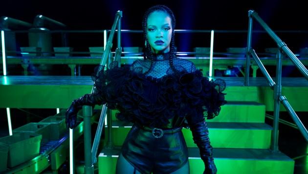 Rihanna ist die neue Königin der Dessous-Shows. (Bild: AP)