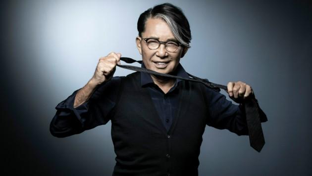 Kenzo Takada im Jahr 2018 (Bild: APA/AFP/JOEL SAGET)