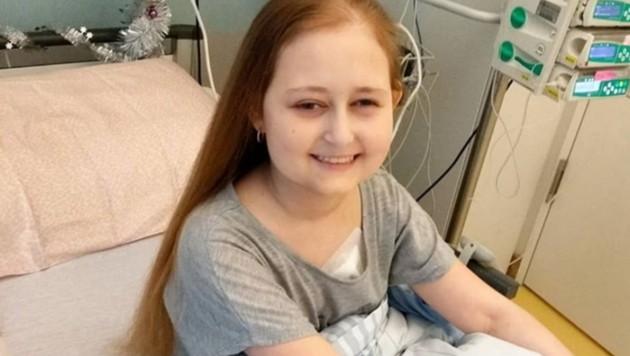 """Grace Mertens nahm 2017 bei """"The Voice Kids"""" teil. Die 16-Jährige ist unheilbar an Krebs erkrankt. (Bild: instagram.com/grace.mertens)"""