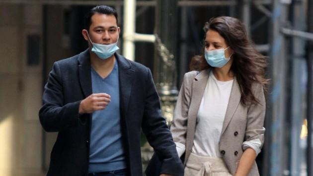 Katie Holmes und Emilio Vitolo Jr. (Bild: www.PPS.at)
