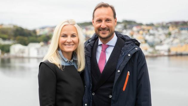 Kronprinz Haakon und Kronprinzessin Mette-Marit (Bild: Berit Roald / NTB / picturedesk.com)