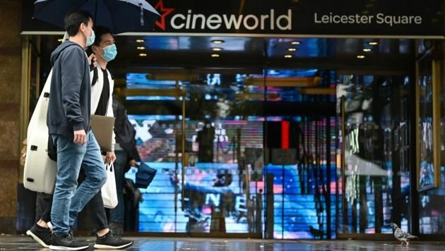 Cineworld zog die Reißleine, 45.000 Menschen verlieren ihre Jobs. (Bild: AFP)