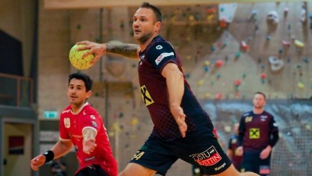 Vytas Ziura ist als Spielertrainer ein Volltreffer für Leoben. (Bild: Leithold)