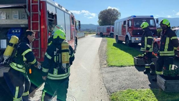 (Bild: Feuerwehr Zeltweg)