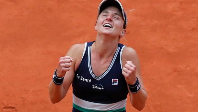 Nadia Podoroska (ARG) (Bild: Associated Press)