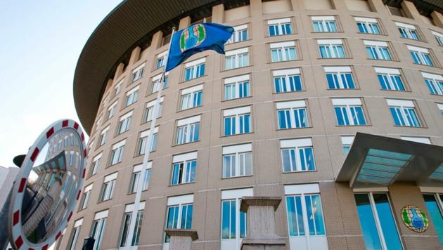 Das Hauptquartier der Organisation für das Verbot chemischer Waffen (OPCW) in Den Haag (Bild: Associated Press)