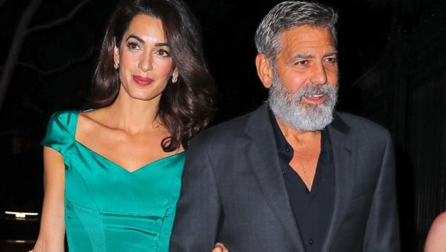 Amal und George Clooney (Bild: www.PPS.at)