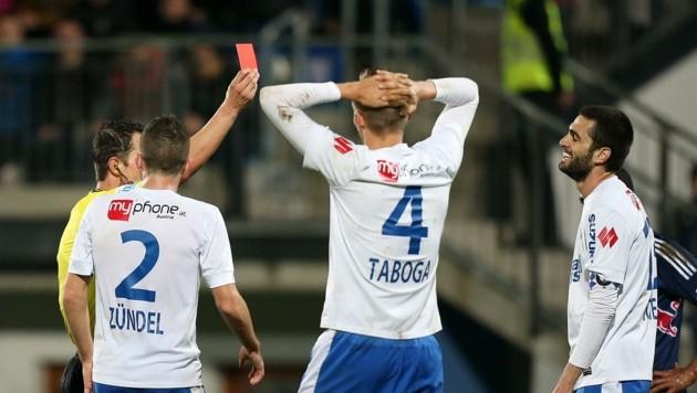Eines seiner letzten Spiele im Dress des damaligen Bundesligisten SV Grödig vor sieben Jahren. (Bild: ANDREAS TRÖSTER)
