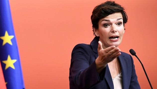SPÖ-Vorsitzende Pamela Rendi-Wagner (Bild: APA/ROBERT JAEGER)