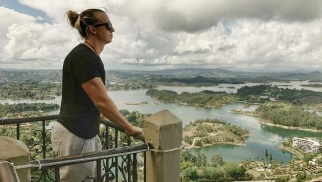 Die Wanderlust brachte René in die Berge Mexikos oder nach Kolumbien (siehe Bild) (Bild: zvg/Schwarzgruber)