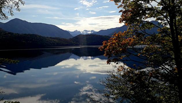 Ein wunderschöner Ausblick auf den Altausseer See (Bild: Leserreporter/ Christa K. )