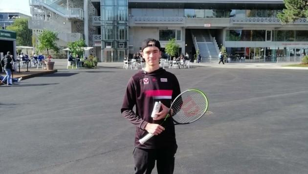 Will im Herrentennis bald wieder zurück nach Roland Garros: Lukas Neumayer. (Bild: Lukas Neumayer)