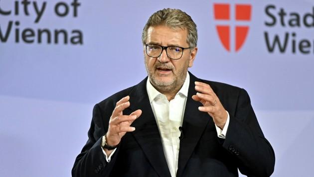 Gesundheitsstadtrat Peter Hacker (SPÖ) (Bild: APA/Herbert Neubauer)