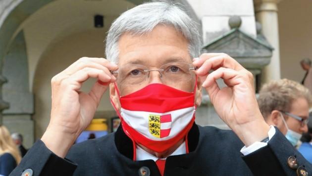 Kärntens Landeshauptmann Peter Kaiser (SPÖ) (Bild: Rojsek-Wiedergut Uta)