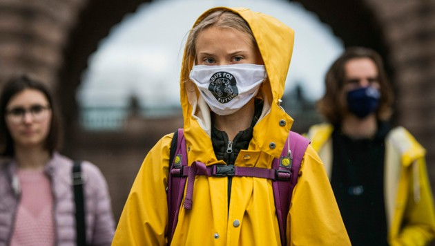 Greta Thunberg (Bild: AFP or licensors)