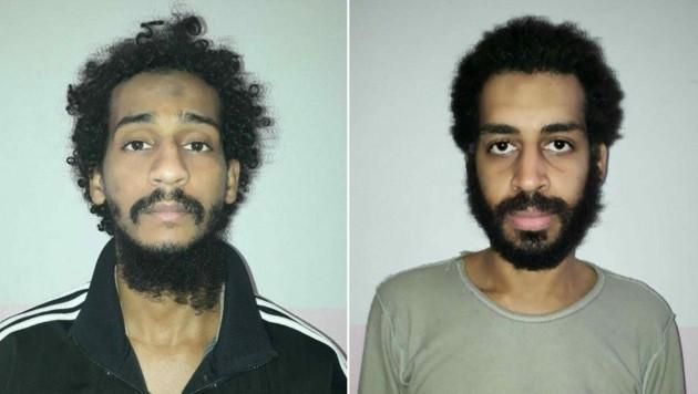 El Shafee el-Sheikh (links) and Alexanda Kotey (rechts) (Bild: AFP)