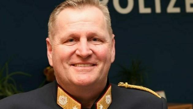 Der Linzer Stadtpolizeikommandant Karl Pogutter. (Bild: LPD OÖ)