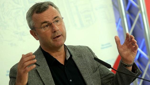 FPÖ-Bundesparteichef Norbert Hofer (Bild: APA/Herbert Pfarrhofer)