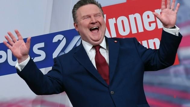 Bürgermeister Michael Ludwig (SPÖ) ist der große Wahlsieger. (Bild: APA/HELMUT FOHRINGER)