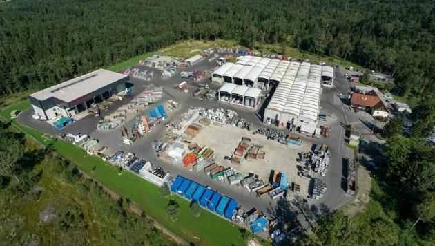 Das Recyclingzentrum von Saubermacher in Premstätten (Bild: Saubermacher)