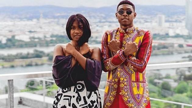 Teilen die Liebe zur Musik: Rose May & David Alaba (Bild: zVg)