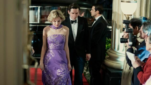 Prinzessin Diana (Emma Corrin) und Prinz Charles (Josh O'Connor)