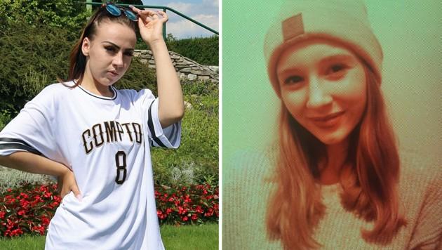 Angelina G. (links) und Barbara B. gelten als vermisst. (Bild: LPD Vorarlberg)