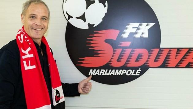 Das Engagement beim FK Suduva in Litauen dauerte für Heimo Pfeifenberger nur 97 Tage. Aber es läuft noch ein gerichtliches Nachspiel. (Bild: Tröster Andreas)