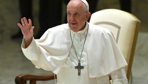 Papst Franziskus (Bild: AFP)
