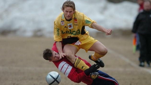 Kämpfernatur. So wie Höller für FCK fightete, so kämpfte er sich zurück ins Leben, ist heute Trainer von St. Michael/Bl. (Bild: pessentheiner)