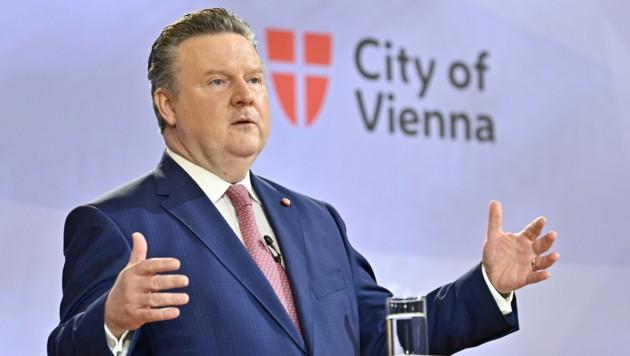 Wiens Bürgermeister Michael Ludwig (SPÖ) (Bild: APA/Hans Punz)