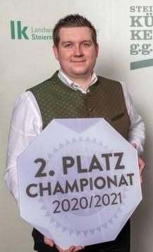 So sehen Sieger aus: Den zweiten Platz holte sich der Gnaser Manfred Platzer! (Bild: Kristoferitsch)