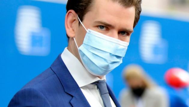 Bundeskanzler Sebastian Kurz (Bild: AP)