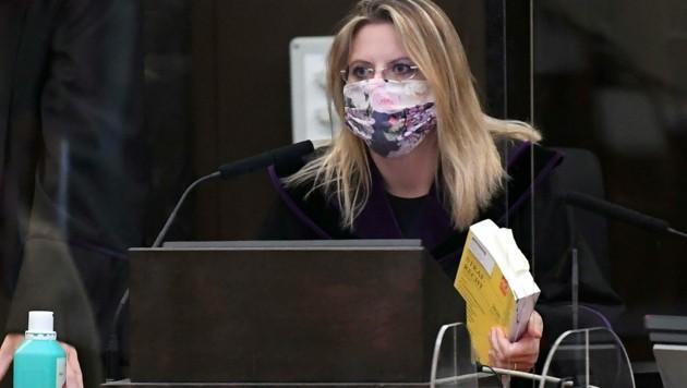 Richterin Marion Hohenecker (Bild: APA/HELMUT FOHRINGER)