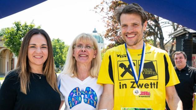 Renate Niklas, Eva Otter, Alexander Bichl (von l. nach r.) (Bild: Harald Lachner)