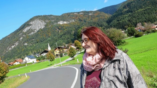 """Im schönen Weißenstein im Unteren Drautal wandern jene vorbei, die auf dem Jakobsweg nach Santiago de Compostela unterwegs sind, weiß """"Krone""""-Redakteurin Serina Babka. (Bild: Rojsek-Wiedergut Uta)"""