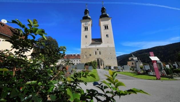 Ob der Gurker Dom mit den Doppeltürmen genau an jener Stelle errichtet worden ist, wo das Bistum gegründet wurde, ist nicht belegt. (Bild: Evelyn HronekKamerawerk)