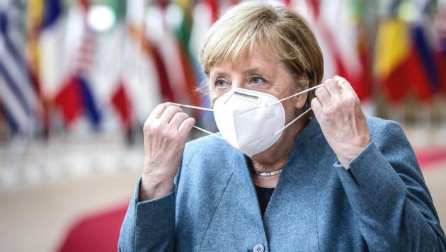 Deutschlands Kanzlerin Angela Merkel (Bild: AFP)
