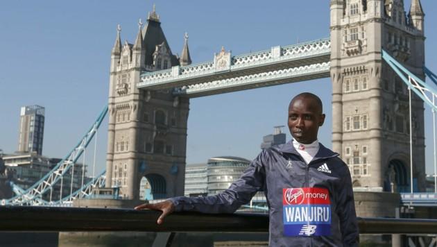 Daniel Wanjiru (Bild: AFP)