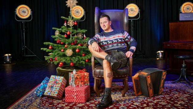 Andreas Gabalier in Weihnachtsstimmung (Bild: BN Licht Bilder)