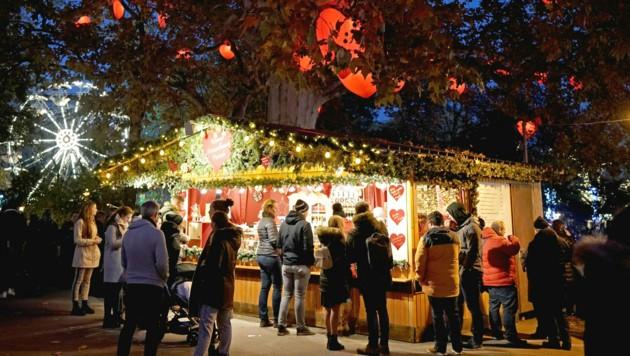 Diese Bilder vom Wiener Christkindlmarkt werden wir heuer mit Sicherheit nicht sehen. (Bild: APA/GEORG HOCHMUTH)
